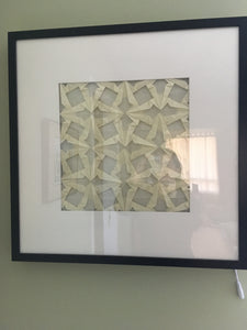 Origami Tessellation LED Light Frame
