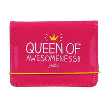 Load image into Gallery viewer, Queen Of Awesomeness Card Holder