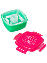 Load image into Gallery viewer, Hello Lunch Salad Box