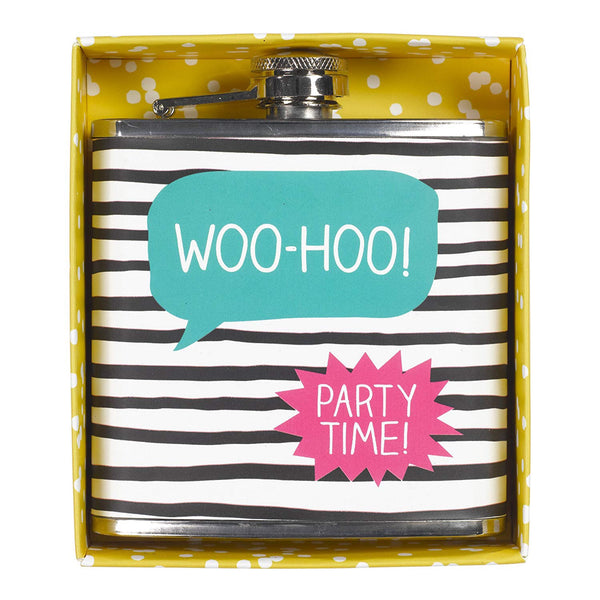 Woo-Hoo Hip Flask