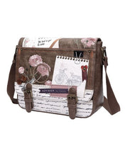 Load image into Gallery viewer, Vintage Stationery Satchel Bag