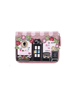 Beauty Lounge Small Ziparound Wallet