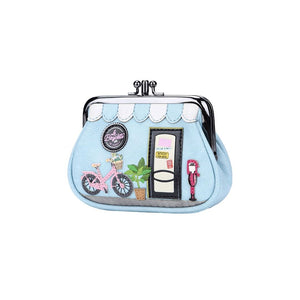 La Bicyclette De Vendula Clipper Coin Purse