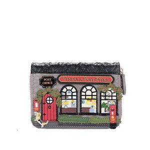 Vendula Post Office Small Ziparound Wallet