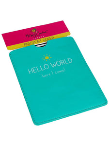 Hello World Passport Holder