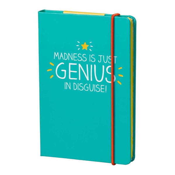 Madness Is Just Genius In Disguise A6 Notebook