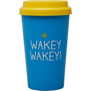 Wakes Wakey Travel Mug