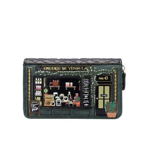 Epicerie De Vendula Medium Ziparound Wallet