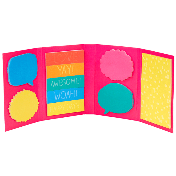 Colourful Set Of Mini Sticky Notes