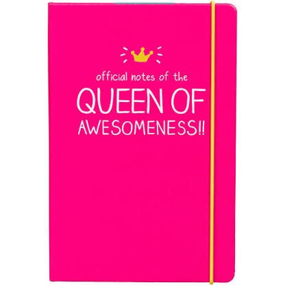 Queen Of Awesomeness A5 Notebook