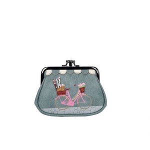 Sewing Shop Denim Clipper Coin Purse