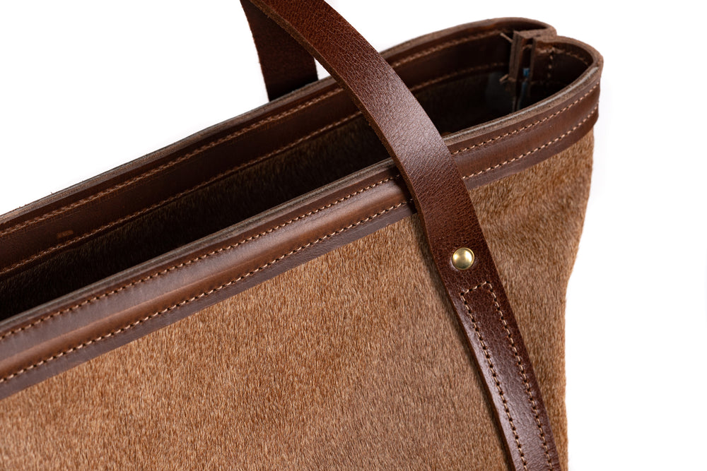 Large Tote- Cowhide Collection