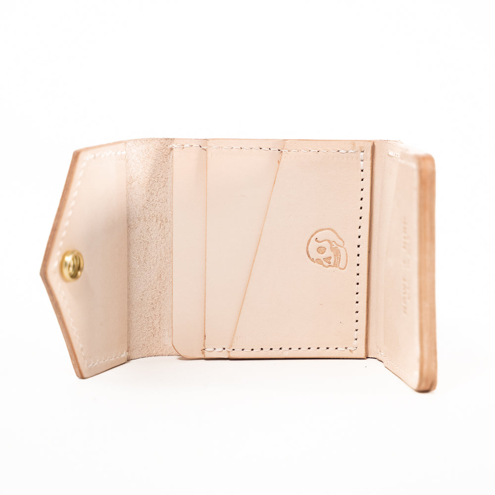 The Snap Bifold - Natural