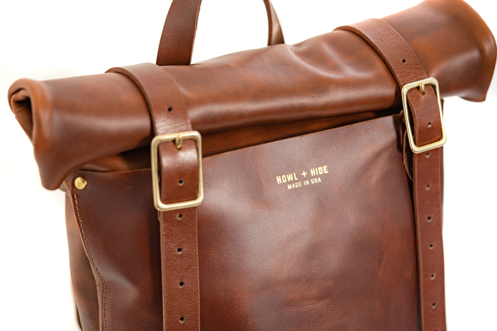 Merle- Rucksack Antique Tan