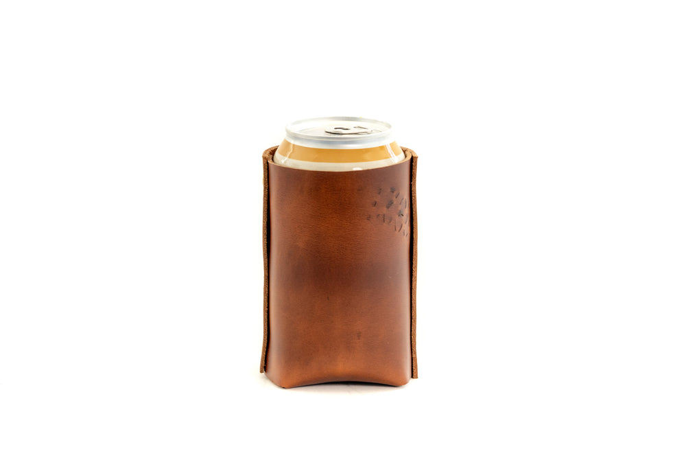 Koozie- PERSONALIZED- Antique Tan