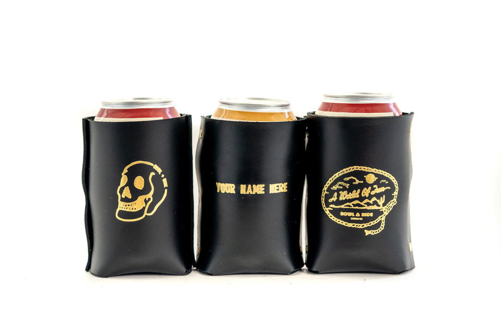 Koozie - Large Skull - Black