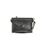 The Primrose Accordion Crossbody- Black