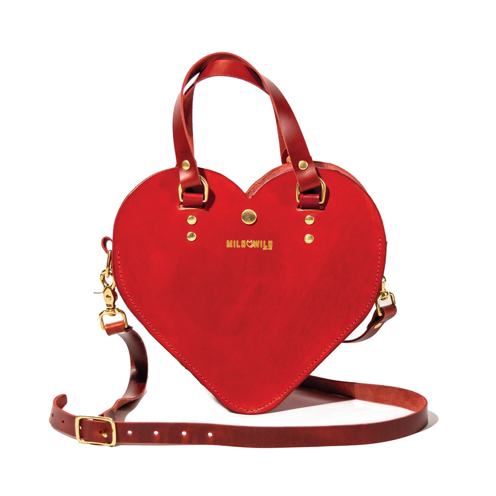Heart Shaped Crossbody - Mild to Wild Collection