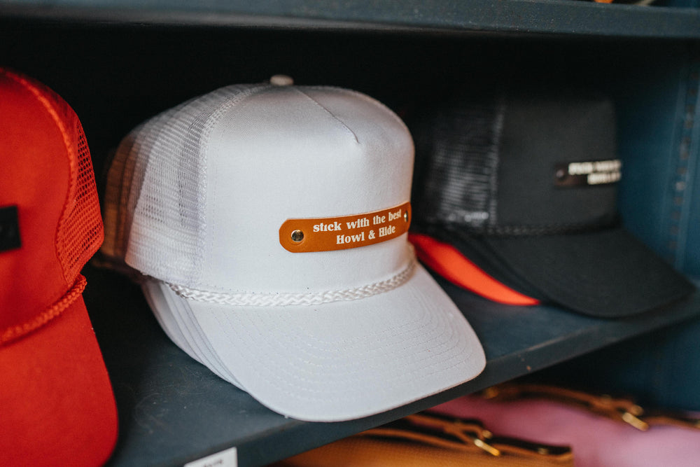 Vintage Trucker Hat - Stick with the Best