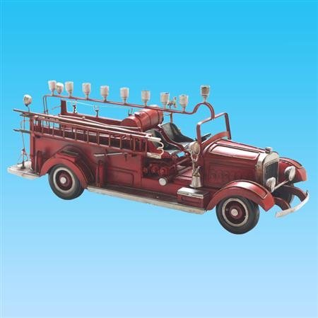 Old Time Fire Wagon Menorah