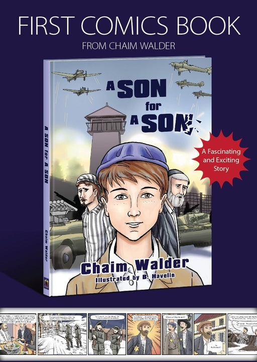 A Son for a Son By Chaim Walder (Comics)