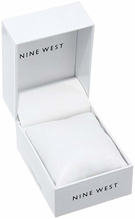 Nine West Women's Rubberized Bracelet Watch