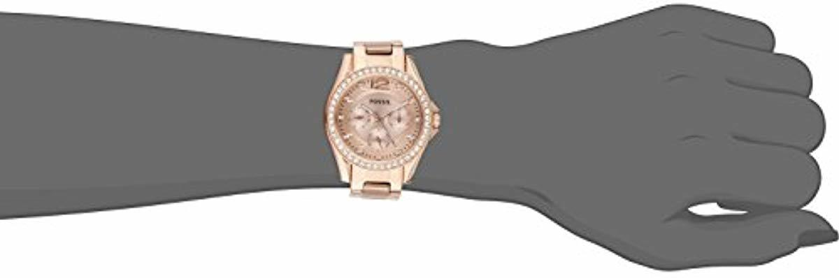 Fossil Womens Riley Multifunction - ES2811