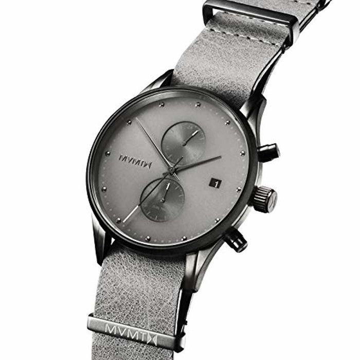 MVMT Men's Analog Minimalist Watch with Dual Time Zones