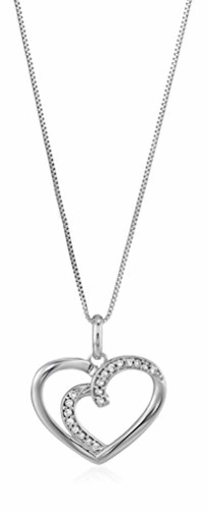 Vir Jewels Diamond Pendant Necklace 14K Gold with 18 Inch Chain