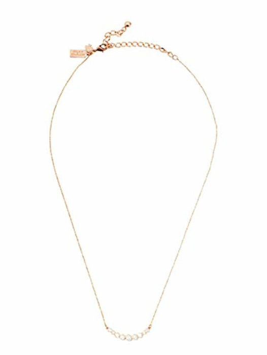 Kate Spade Full Circle Pendant Necklace Rose Gold 16 inches + 3 in Extender
