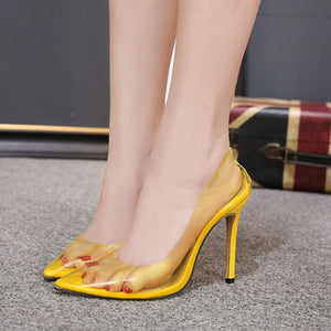 High Heels with Pointed Toe