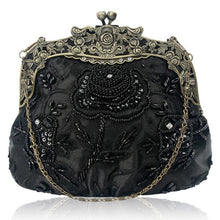 Load image into Gallery viewer, Vintage Beaded Sequin Bag