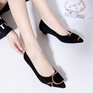 Low Heels Platform Shoes