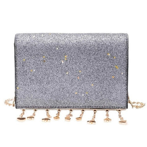 Women Shining Sequins Shoulder Bag