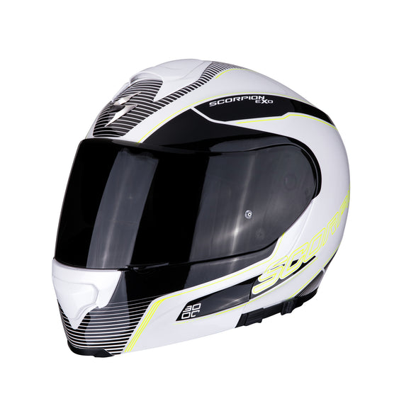 Scorpion Modular Exo-3000 Air Stroll White Helmet