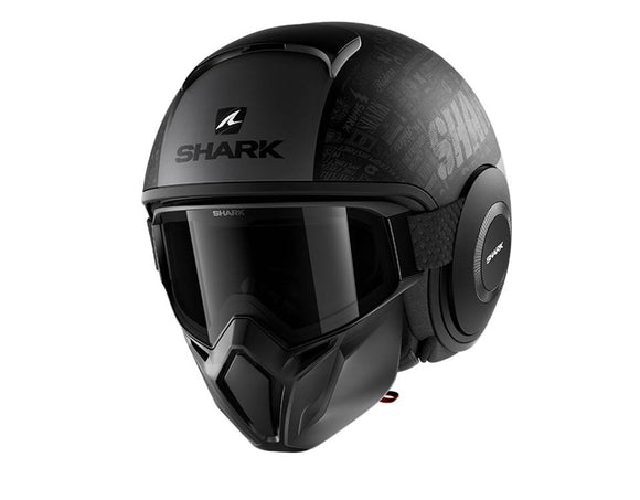 SHARK Street Drak Tribute Anthracite Helmet
