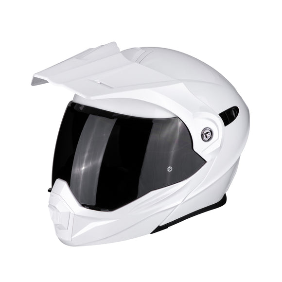 Scorpion ADX-1 White Helmet