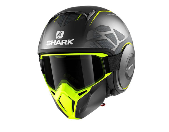 SHARK Street Drak Hurok Matt Yellow Helmet