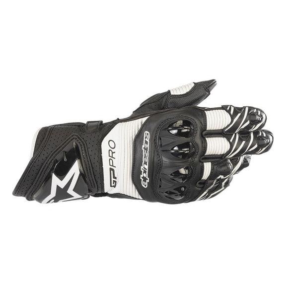 Alpinestars GP Pro R3 Black / White Gloves