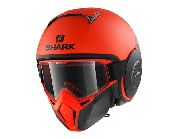 SHARK Street Drak Neon Orange Helmet