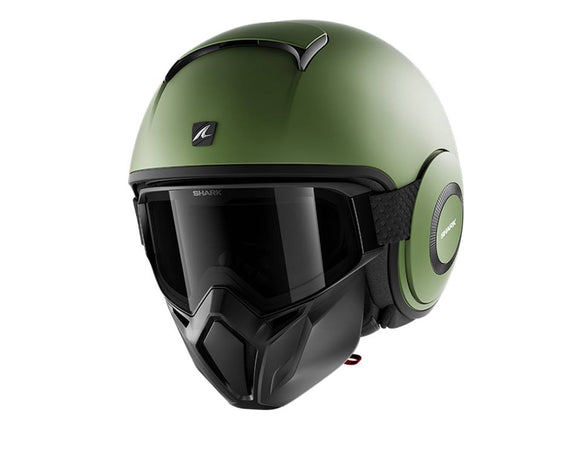 SHARK Street Drak Matt Green Helmet