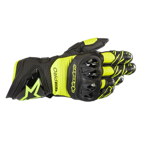 Alpinestars GP Pro R3 Black / Yellow Gloves