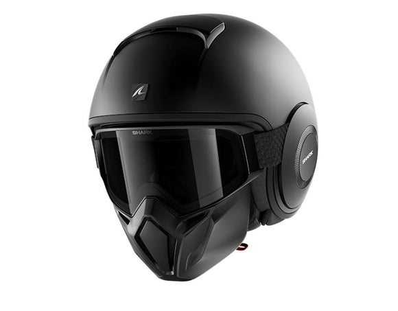 SHARK Street Drak Matt Black Helmet