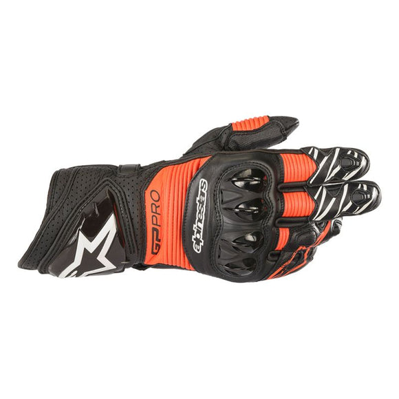 Alpinestars GP Pro R3 Black / Red Gloves