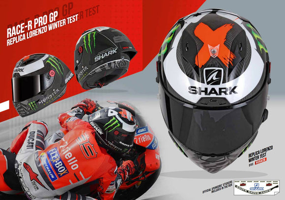 SHARK Race R Pro GP Lorenzo Helmet (Limited Edition)