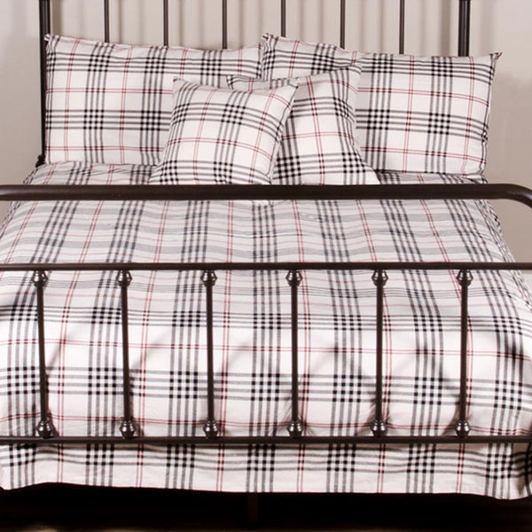 Chesterfield Check Bedding