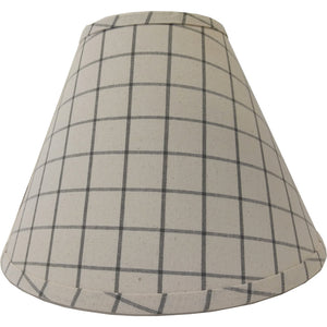 "Summerville Osenburg and Pewter 14"" washer Lampshade by Raghu"