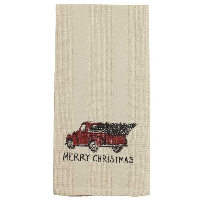 Red Truck Christmas Towel (95661)