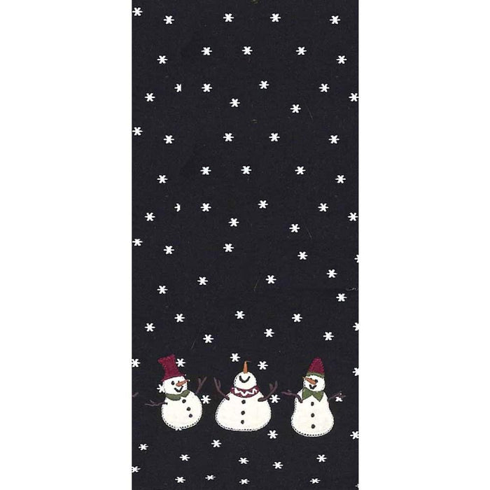 Whimsy Snowmen Towel - Set of 2 by Raghu (ETGD0045)