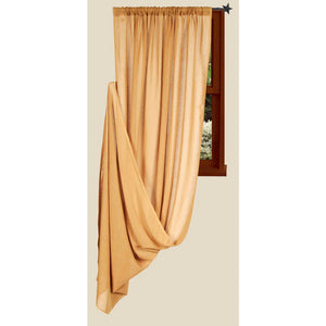 Heirloom Nutmeg Single Drapery Panel 86 inch